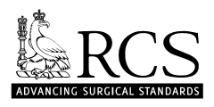 Royal College of Surgeons Logo and link to website