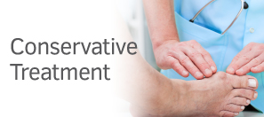 Exeter Foot & Ankle Clinic conservative treatment CTA