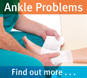 Exeter Foot & Ankle Clinic - Ankle problems & treatments - find out more