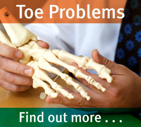Foot & Ankle Clinic - Toe problems & treatments - find out more