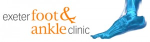 Exeter Foot & Ankle Clinic Website Heading - treating ankle, foot & toe problems