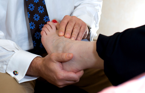 Exeter Foot & Ankle Clinic - Foot Problems header