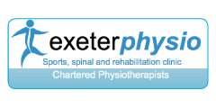Exeter Physio Logo and link to website