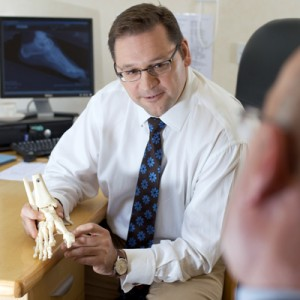 Mr Ian Sharpe Consultant Orthopaedic Surgeon Exeter Foot & Ankle Clinic