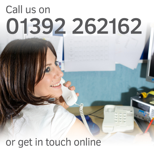 Exeter Foot & Ankle Clinic - Contact us online or call 01392 262162 to find out more